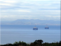 NO4202 : Distant view of Edinburgh from South Fife by Andrew Curtis