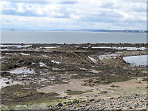 NO4202 : Low tide near Temple Hill by Andrew Curtis