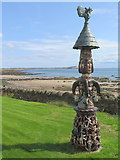 NO4102 : 'Malagan' by Alan Faulds, Lower Largo by Andrew Curtis