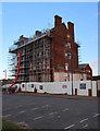 TG1543 : Converting the Burlington Hotel by Hugh Venables