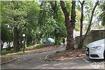NT2473 : Gardens behind Charlotte Square, Edinburgh by Jim Barton