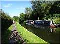 SO8693 : Canal Moorings by Gordon Griffiths