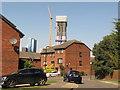 TQ2081 : Ferguson Drive, Westcott Park, Acton by David Hawgood