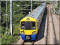 TQ2181 : Class 378 train on London Overground, near North Acton by David Hawgood