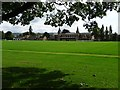 SO9421 : Cheltenham College Sports field by Philip Halling
