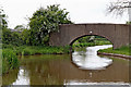 SK1509 : Cheadle's Bridge north-west of Whittington in Staffordshire by Roger  Kidd