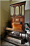 SU8014 : East Marden, St. Peter's Church: The organ by Michael Garlick