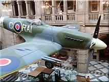 NS5666 : RAF Spitfire by Michael Dibb