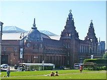 NS5666 : Glasgow buildings [27] by Michael Dibb