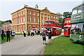 SD3527 : Bus Gathering at Leyland Hall by David Dixon