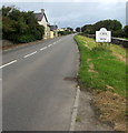 SS9271 : Road into Wick in the Vale of Glamorgan by Jaggery