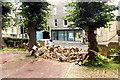 TL4459 : Demolished wall in Castle Street by Tiger