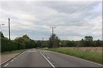 TL2063 : Paxton Road, Great Paxton by David Howard