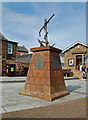 NO6440 : RNLI Memorial Cairn by Mary and Angus Hogg