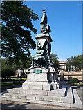 SJ3490 : Gladstone Memorial, St John's Garden, Liverpool by Stephen Craven