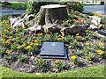 SJ3490 : Rwanda Memorial, St John's Garden, Liverpool by Stephen Craven