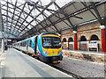SJ3590 : Transpennine unit at Lime Street station by Stephen Craven