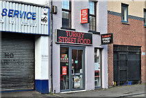 J3373 : Turkey Street Food, Belfast (September 2019) by Albert Bridge