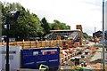 SO8376 : The rebuilding of Kidderminster Railway Station (1), Kidderminster, Worcs by P L Chadwick