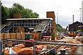 SO8376 : The rebuilding of Kidderminster Railway Station (2), Kidderminster, Worcs by P L Chadwick