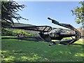 TF0506 : Burghley House Sculpture Garden 2019 - Star Wars spacecraft by Richard Humphrey