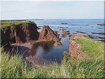 NT6779 : A View from the Promenade in Dunbar by Jennifer Petrie