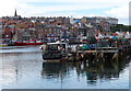 NZ9010 : The Upper Harbour on the River Esk, Whitby by Mat Fascione