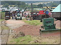 SO8040 : Welland Steam Rally - road making display by Chris Allen