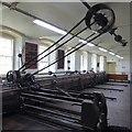 NS8842 : New Lanark Mills - Operational loom - Mill No.3  by Rob Farrow