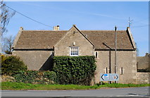 ST8080 : The Tithe Barn, Acton Turville, Gloucestershire 2014 by Ray Bird