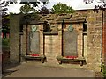 SK5361 : Memorial wall, The Old Meeting House, Mansfield by Alan Murray-Rust