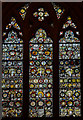 ST5972 : Medieval Stained glass window, St Mary Redcliffe church, Bristol by Julian P Guffogg