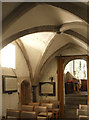 SY9287 : South Chapel, Lady St Mary church, Wareham by Derek Harper