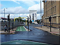 SE1633 : Start of the new Greenway, Forster Square, Bradford by Stephen Craven