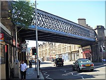 NS5964 : Glasgow bridges [9] by Michael Dibb