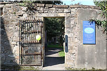 NS3321 : Gateway to Ayr Auld Kirk by Billy McCrorie