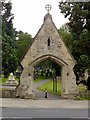SK5459 : Mansfield Cemetery, main gate by Alan Murray-Rust