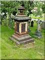 SK5459 : Mansfield Cemetery, monument to Jabez Fish by Alan Murray-Rust