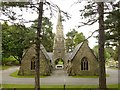 SK5458 : Mansfield Cemetery, mortuary chapels by Alan Murray-Rust