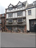 SX9192 : Restored Tudor house, Tudor St, Exeter by John Lord
