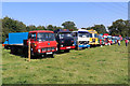 SJ4313 : Shrewsbury Steam Rally - commercial vehicle line up by Chris Allen