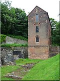 SJ6903 : Blast furnace tower, Blist Hill by Philip Halling