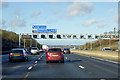 TL2002 : Anticlockwise M25 near South Mimms by David Dixon