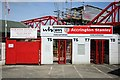 SD7529 : Turnstiles at the Wham Stadium by Steve Daniels