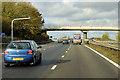 SP9935 : Accommodation Bridge over the M1 near Beckerings Park by David Dixon
