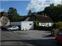 SX7881 : The Cleave Inn at Lustleigh by David Smith
