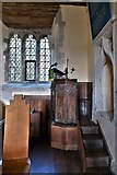 SU5846 : Dummer, All Saints Church: The pulpit by Michael Garlick
