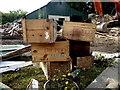 H4277 : Bo-Peep matches boxes, Gortnacreagh by Kenneth  Allen