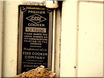 H4277 : Cooker details by Kenneth  Allen