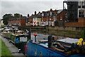 SK9671 : Fossdyke west of Brayford Pool, Lincoln by Christopher Hilton